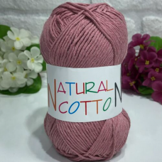 BUMBAC NATURAL COTTON - COD 1004 (ROZ PUDRA INCHIS)