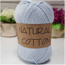 BUMBAC NATURAL COTTON - COD 1000 (BLEU DESCHIS)