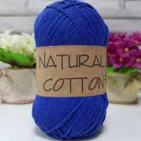 BUMBAC NATURAL COTTON - COD 2601 (ALBASTRU ELECTRIC)