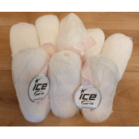 ICE YARN FAVOURITE WOOL - PACHET 800 GR (ALB)
